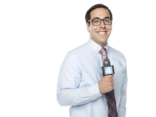 """Jeff Forgeron, a Palm Desert High School, is still in the running to be """"America's Next Weatherman."""""""