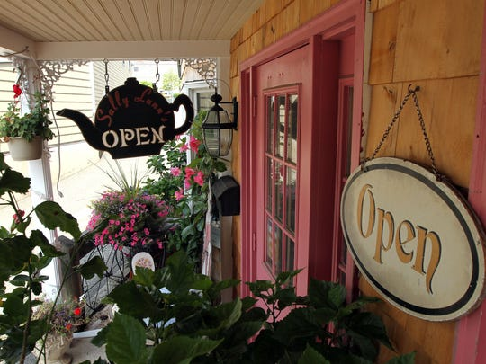 Sally Lunn's Tea Room and Restaurant offers 74 flavors of loose tea, including whole fruit tea, chocolate tea and flower tea.
