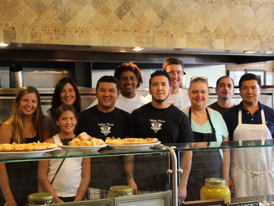 Staff at Tabor Pizza in Morris Plains
