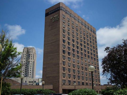 The McCamly Plaza Hotel.