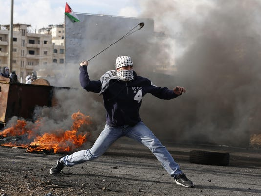 PALESTINIAN-ISRAEL-CONFLICT