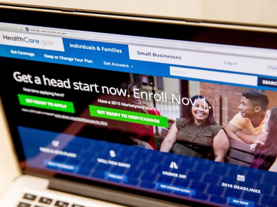 The HealthCare.gov website, where people can buy health