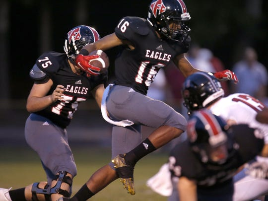 NFC running back Korey Charles' rushing ability could be the key to victory as the Eagles play Cedar Creek Christian in a first-round playoff game.