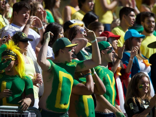 Oregon has some of the most vocal fans in college football, but the Ducks have lost two games this season at Autzen Stadium.