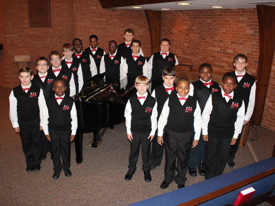 The Mississippi Boychoir's Christmas concert is Sunday at St. Philip's Episcopal Church.
