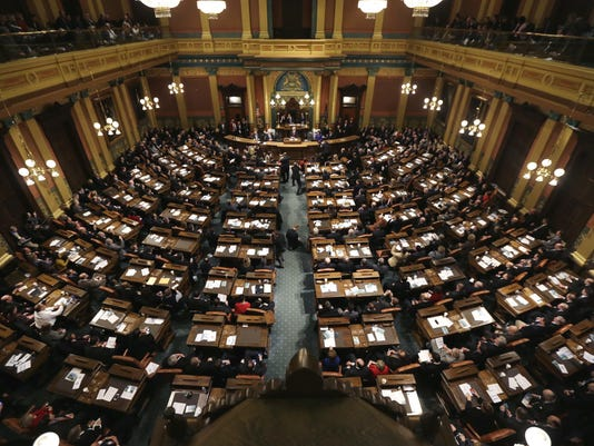 Michigan House of Representatives chamber