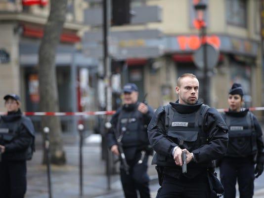 France Police Station Attack