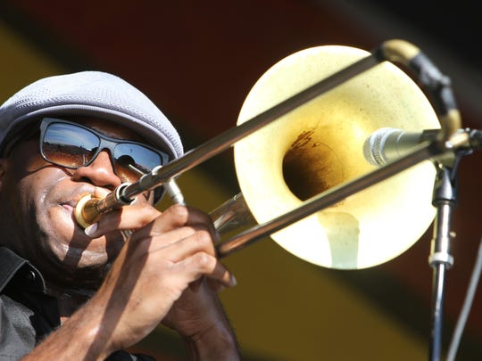 Big Sam Williams, the former trombonist with the Dirty Dozen Brass Band, leads an ensemble of world-class musicians at 10 p.m. Saturday at the Blue Moon Saloon, 215 E. Convent St.
