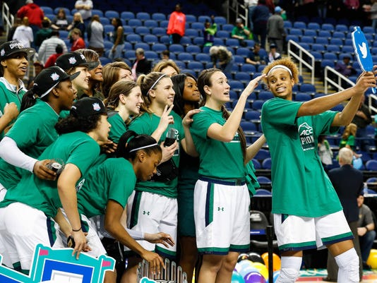 NCAA Womens Basketball: ACC Conference Tournament-Notre Dame vs Syracuse