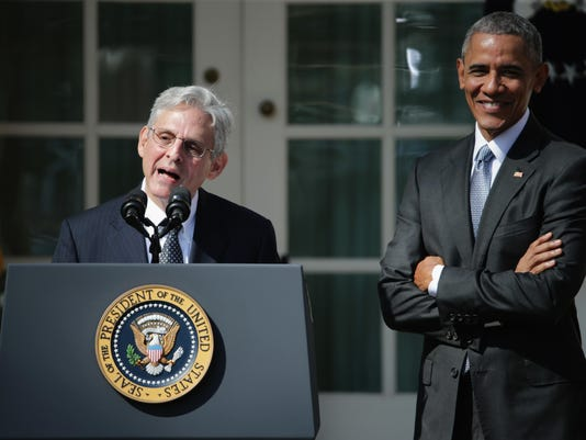 *** BESTPIX *** President Obama Announces Merrick Garland As His Nominee To The Supreme Court