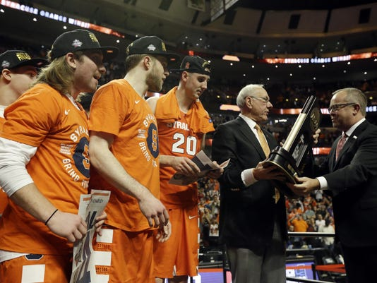Mark Hollis, Jim Boeheim
