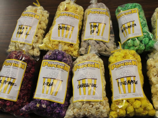 Explore your fruity side with Sugarwalk Popcorn flavors such as grape, pineapple and green apple.
