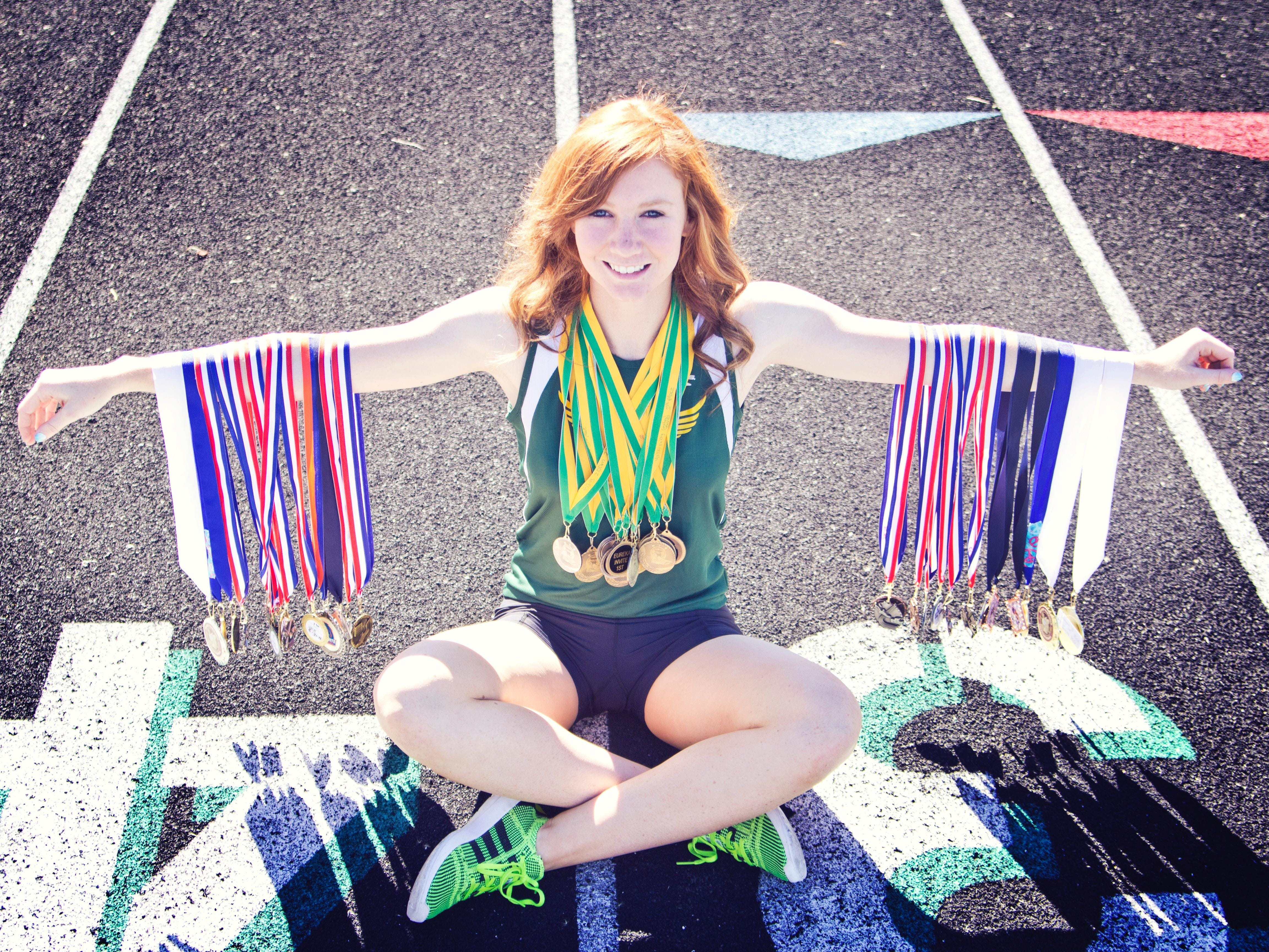 Megan Damele from Eureka is one of the NIAA's top 10 student-athletes from Northern Nevada.