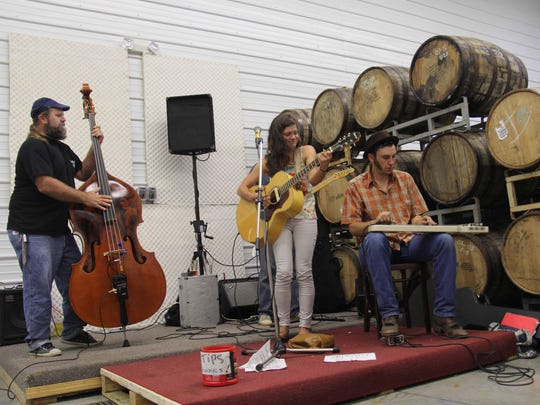 Live music has become a staple at Leaky Roof Meadery.
