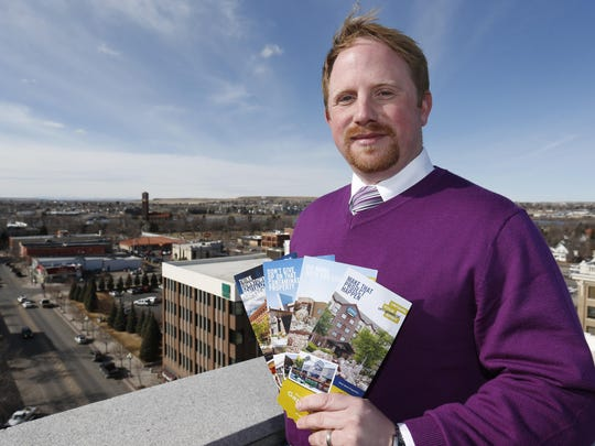Jeremiah Johnson is leaving his post as Great Falls Development Authority business development vice president to serve marketing director for West Bank Landing.