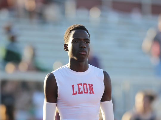 Leon junior Leander Forbes is considered one of the fastest sprinters in the area, currently ranking third in 3A in the 400-meter dash. He'll be going for a state title in the event this weekend.
