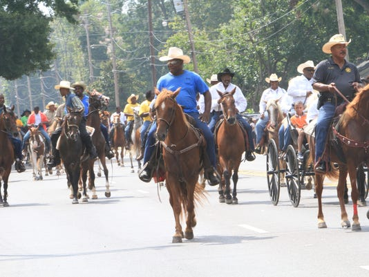 Bayou Black Rodeo Parade