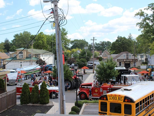 Touch A Truck filled up the parking lots behind Casciano's in Hammonton.