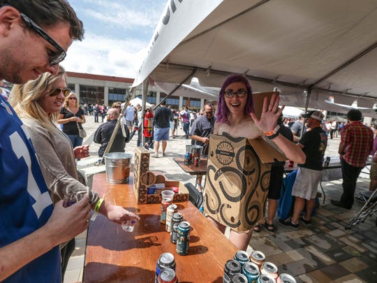 More than 65 craft breweries from around the country will be on hand for the Sun King CANvitational Sept. 10 on Georgia Street in Downtown Indianapolis.