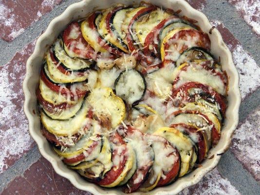 Food Healthy Italian Squash Bake