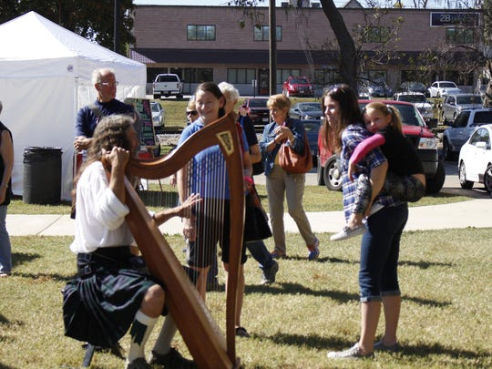 Art in the Park, celebrating its 25th year, will be held Oct. 12 and 13 in Sequiota Park. Admission is free.