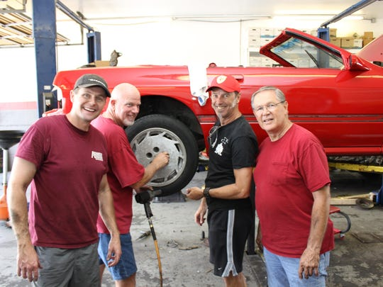 Team members have spent countless volunteer hours prepping the cars.