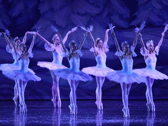 "Moscow Ballet's ""Great Russian Nutcracker"" includes 40 dancers in the show."