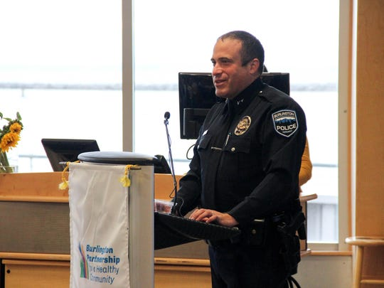 Burlington Police Chief Brandon del Pozo speaks about the role of the Burlington Police Department in supporting substance abuse prevention in the Burlington community.