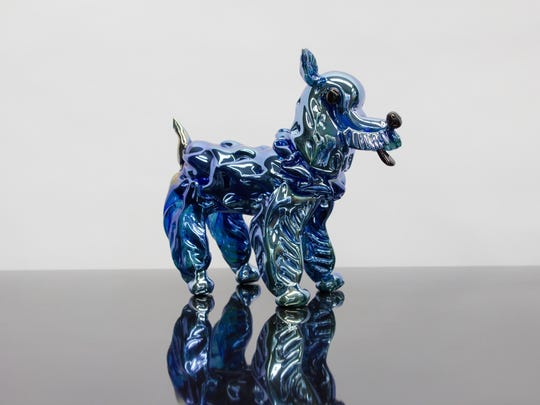 epiphany Single Dog - Silver Blue