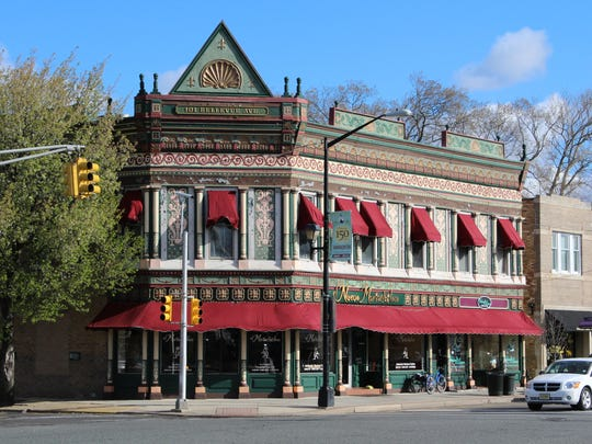 The building at 101 Bellevue Ave. is more than 100 years old and an iconic part of Hammonton. The building currently houses the Mexican restaurant El Mariachi Loco. It was the former home of several drug stores and an ice cream parlor.