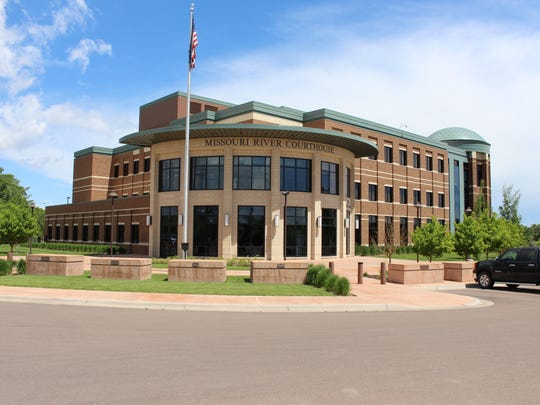 The Missouri River Federal Courthouse in June 2014.