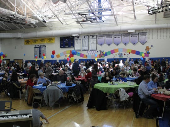 The Hammonton High School gymnasium was packed on Sunday afternoon for the Hammonton Education Foundation's 14th annual Taste of the Town.