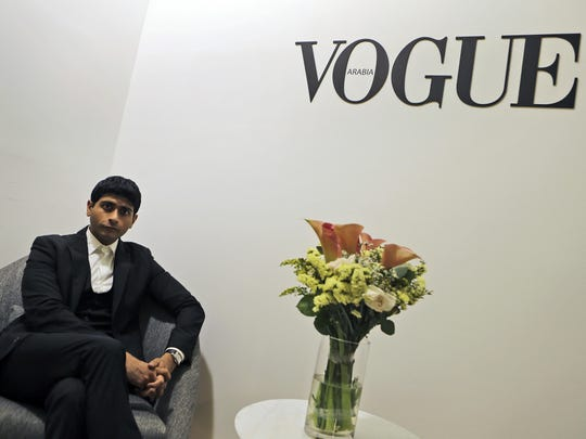 "Shashi Menon is CEO and publisher of Vogue Arabia. ""We want to be cognizant on how we are speaking to and with women from this region, and that means being understanding,"" he said."