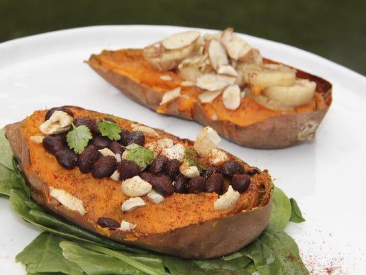 Food Healthy Sweet Potato 2 Ways