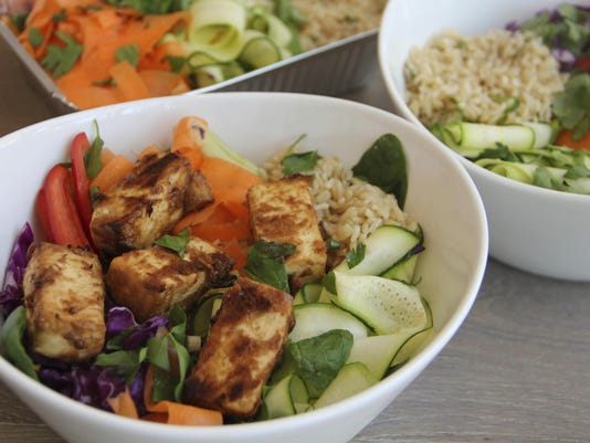 Food Healthy Thai Bowl