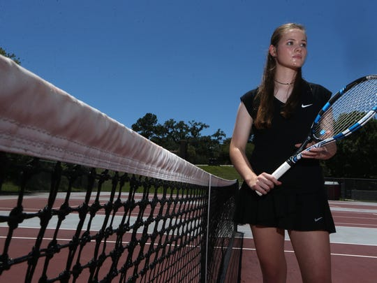 North Florida Christian freshman Laura Ceci is the 2017 All-Big Bend Player of the Year for girls tennis after going undefeated in singles play until the state tournament, while also winning a city title at the No. 1 position.
