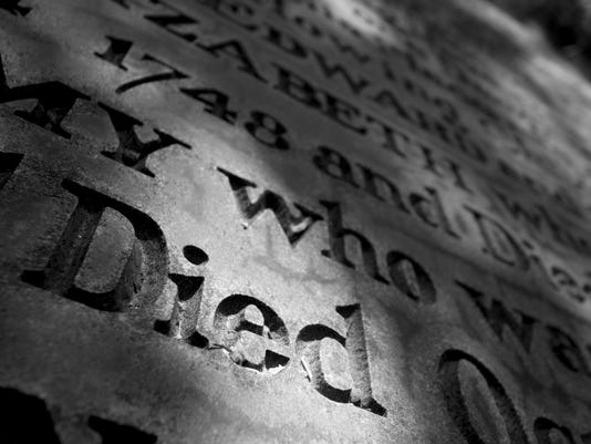 Grave Marker Died from 1748