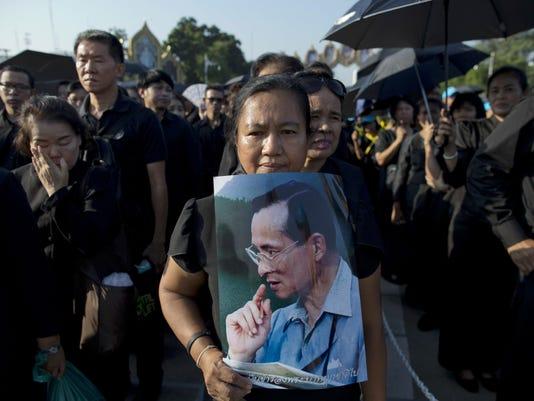 APTOPIX Thailand Royal Cremation
