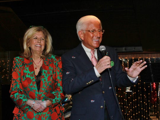 Diane and Tom Schoenith host the Sing-a-Long lunch
