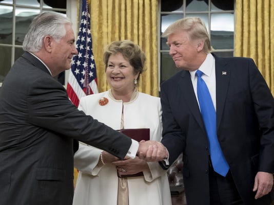 FILE: President Trump Fires Secretary of State Rex Tillerson