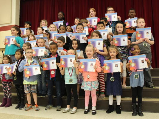 4.2018 2 South ES Students of the Month