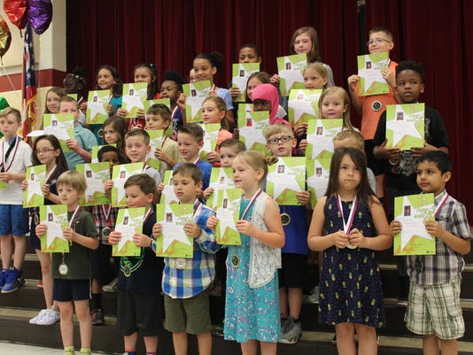 5.2018 South ES Students of the month