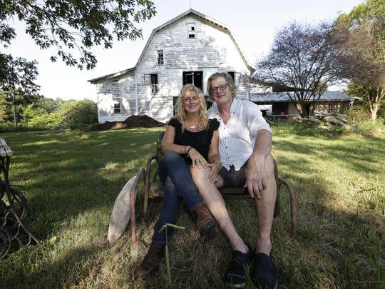 Heather and Tom LaGarde left New York for Saxapahaw,