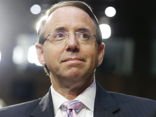 Deputy US Attorney General Rod Rosenstein summmoned to the White House
