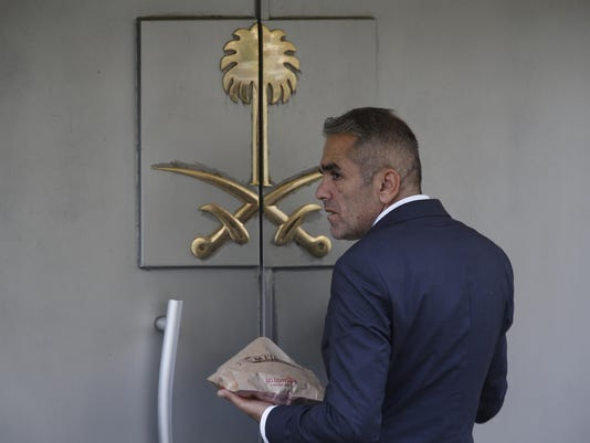 APTOPIX Turkey Saudi Missing Writer