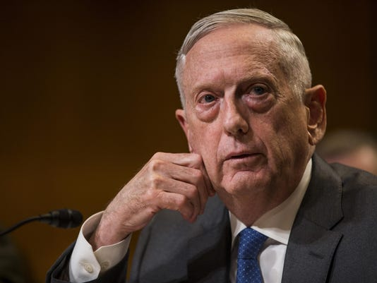 FILE: Mattis Out As Defense Secretary