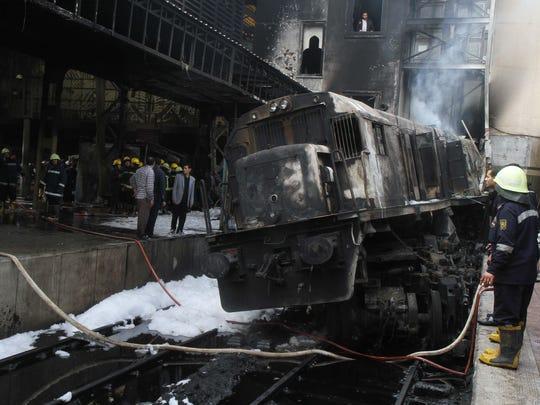 EGYPT-TRAIN-ACCIDENT