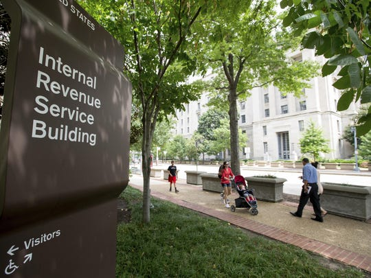 This Aug. 19, 2015, file photo, shows the Internal Revenue Service Building in Washington. The House approved legislation Tuesday, April 9, 2019, that would give the IRS more ability to combat cyber crime as well as redesign the taxpayer appeals process.