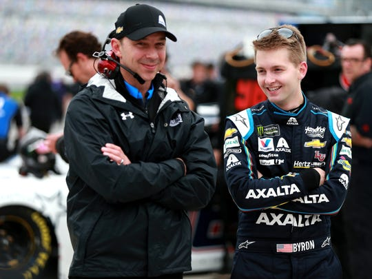 William Byron, driver of the #24 Axalta Chevrolet, is currently the youngest full-time Cup Series driver at 21 years old.