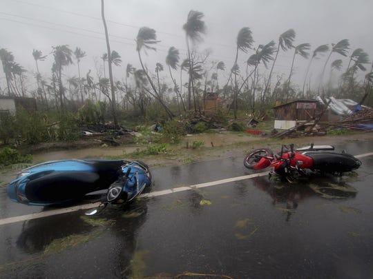 APTOPIX India Cyclone Fani